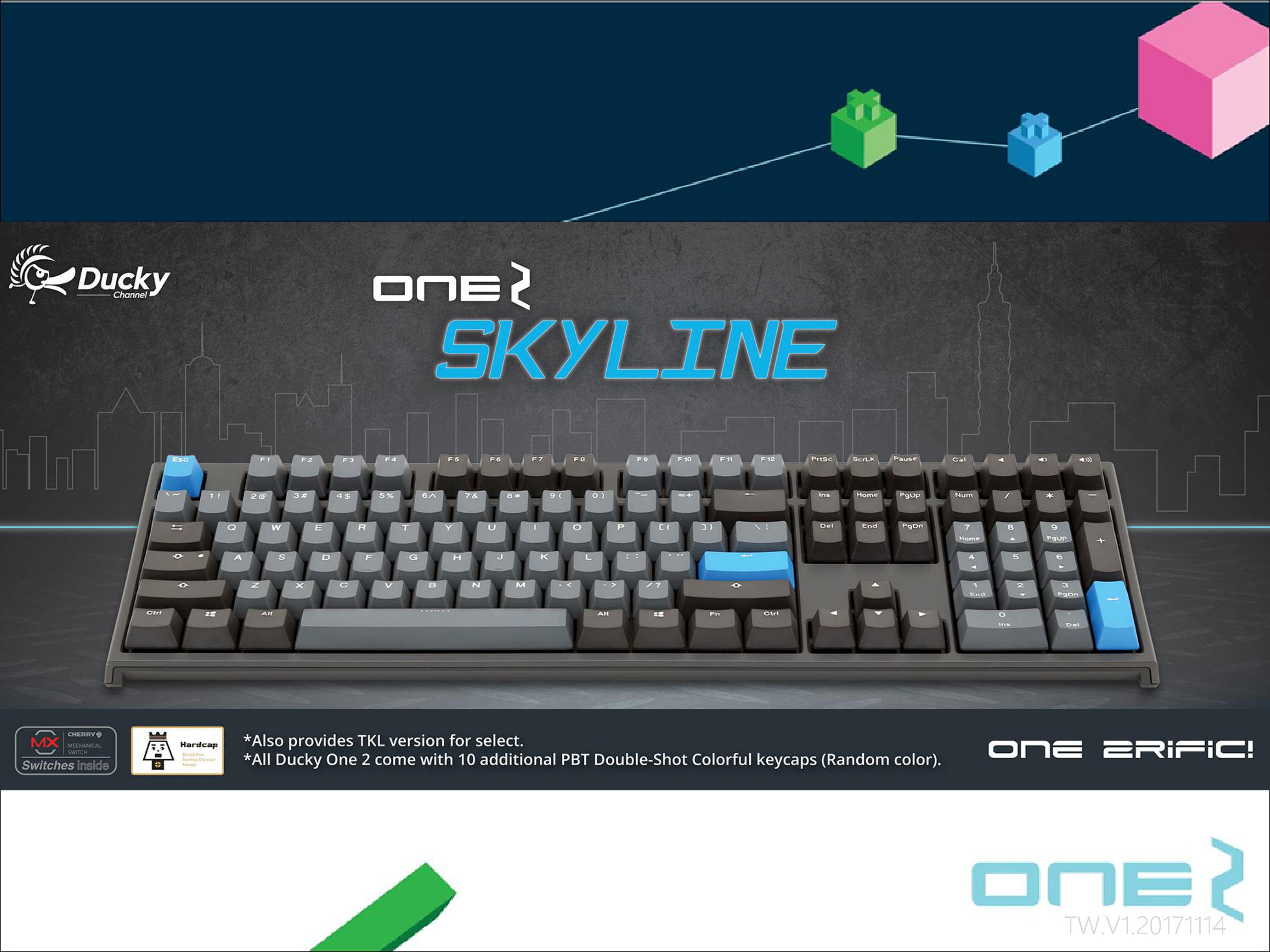 Image result for ducky one 2 skyline
